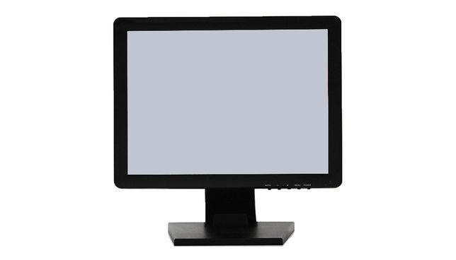 Monitor touchscreen 15 inch, nou, talpa metalica - POS restaurant bar