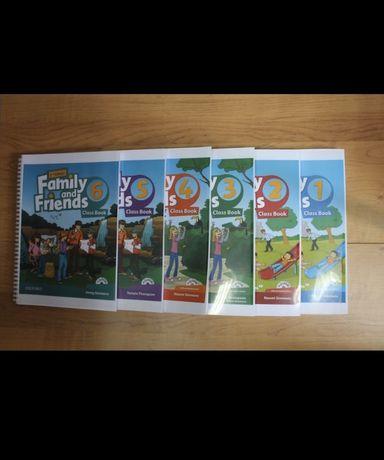 Headway, English file, Family and friends, распечатка книг