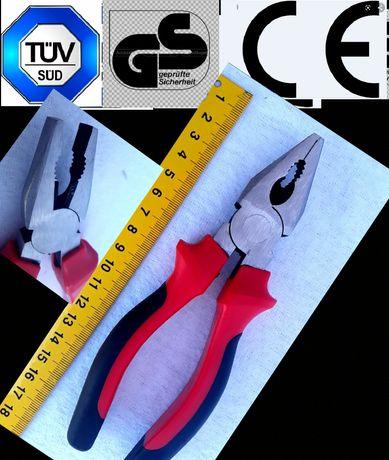 PATENT- Clește Profesional 180 mm mânere ergonomice izolate - 10 Lei