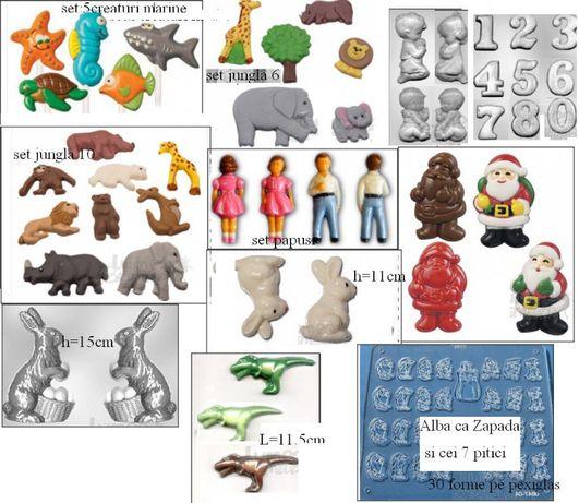 matrita iepure si alte figuri - pentru ciocolata, ipsos, etc