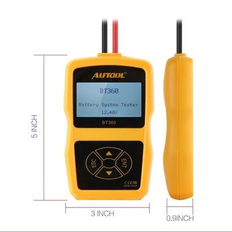 Tester profesional acumulator auto Autool BT360