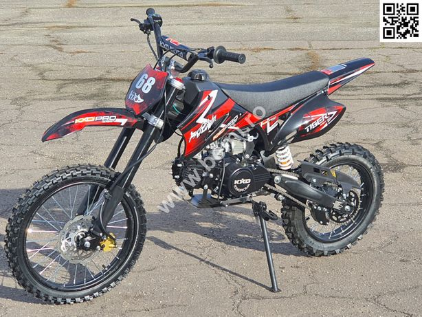 "Moto Cross 125cc BEMI Dirt Bike J17"" Oferta cu livrare nationala"