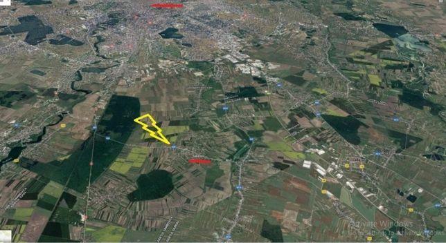 Teren intravilan Săbăreni lângă Bucuresti 4500 mp