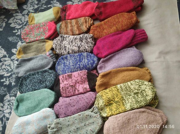 нови дамски плетени чорапи
