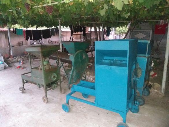 Машини за чистене на бадеми орехи лишници
