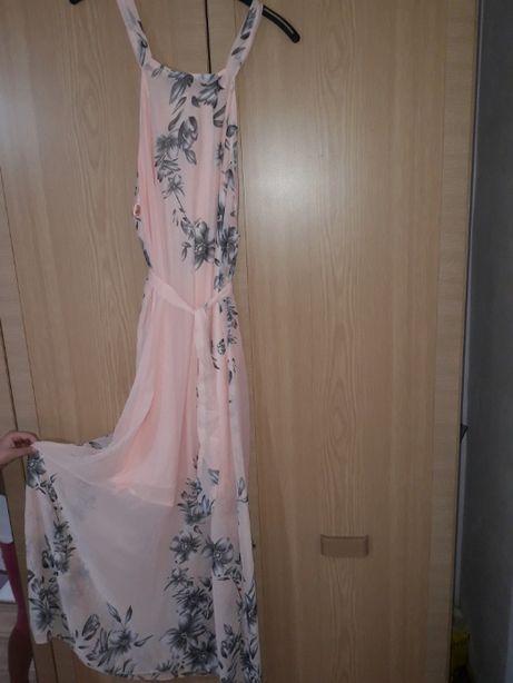 rochie lejera marimea xxl se leaga la spate, cordon peste mijloc