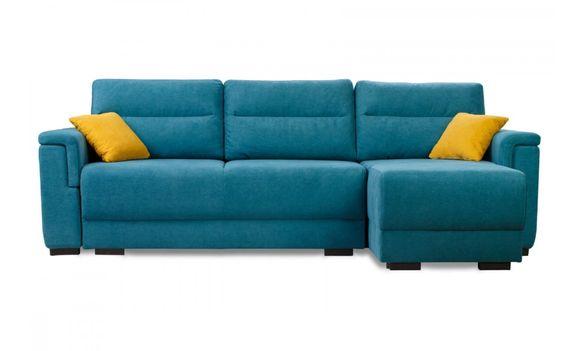 Компактен, удобен ъглов диван с потапящ механизъм за сън