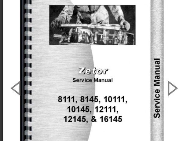 Vand manual service ai reparatii Zetor, Zts, Case, Same, Utb, JD