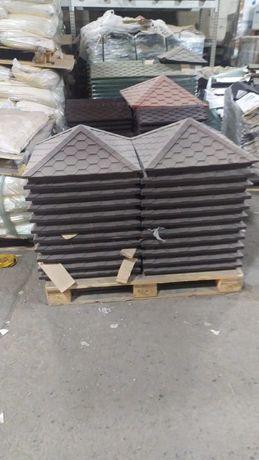 Продам Продам колпаки и парапед на кирпичный забор, 5 цветов.