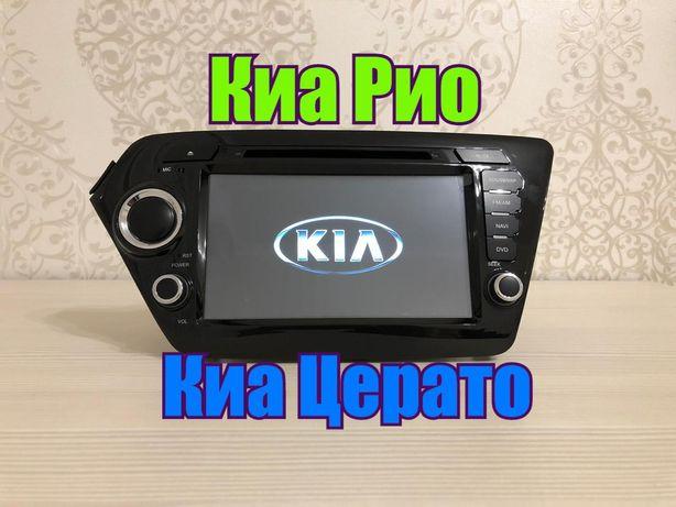 Магнитола Киа Рио Церато Kia Rio Cerato DSK RedPower ШГУ Андроид