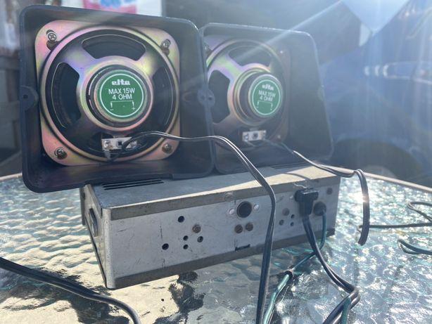 Vand radio vechi plus difuzoare