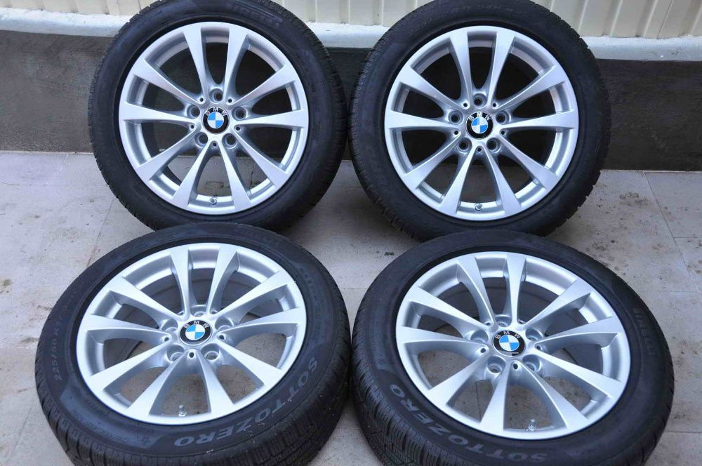 "Roti Iarna 17"" Originale BMW Seria 3 4 F30 F31 F32 F33 F36 225/50 R17 Bucuresti - imagine 1"