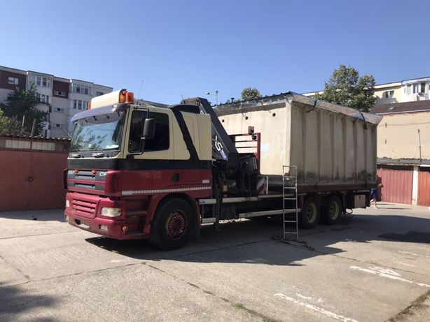 Vând garaj beton cu transport inclus