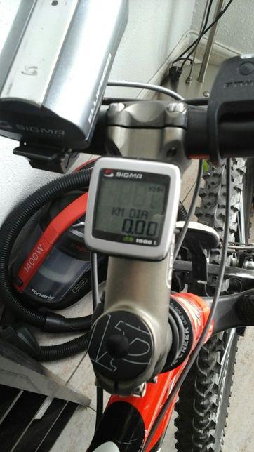 Kilometraj și faruri bicicletă Sigma