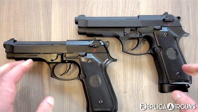CEL MAI BUN PISTOL-Beretta/Taurus Full Metal Airsoft Co2gaz Puternic