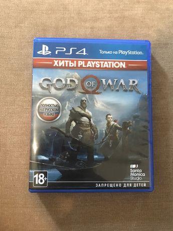 Продаю игру God of war на PS4