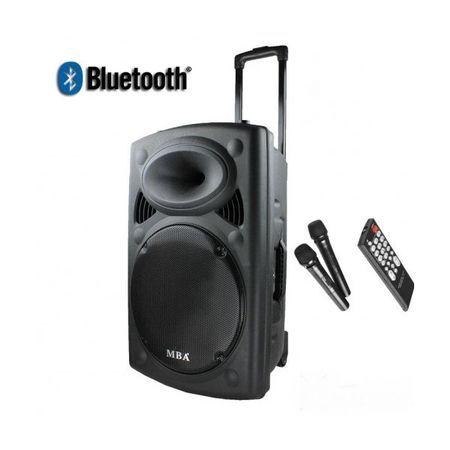караоке МВА F15, тонколона Bluetooth, USB, радио, караоке
