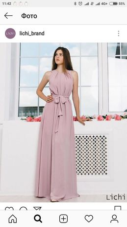 Платье фирмы Lichi