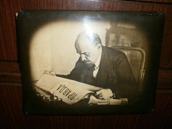 Стара Снимка на - Владимир Илич Ленин - Москва - 1918 г.