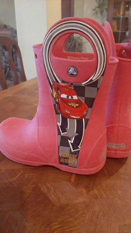 Детски гумени ботуши Crocs McQueen, размер J1