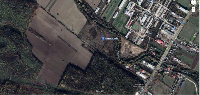 Vand teren intravilan 30E/mp negociabil in comuna Jilava,langa raul Sa