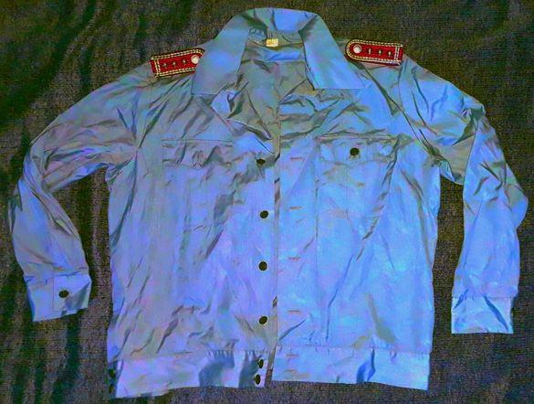 Риза на старши лейтенант Пожарникар ГДР