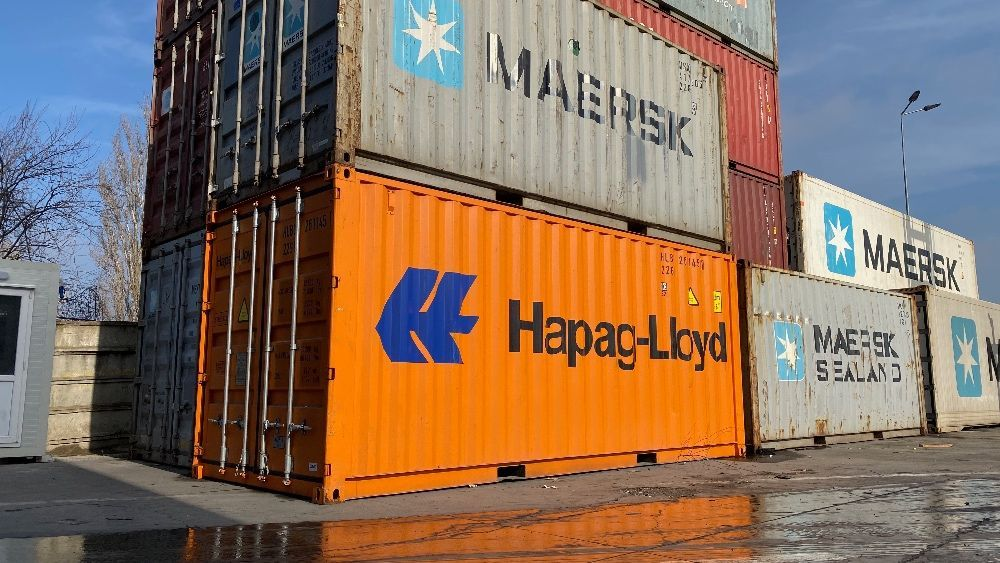 Containere maritime depozitare 20ft DV Second Hand Tancabesti Tancabesti - imagine 1
