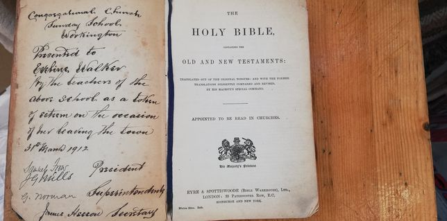 Biblie veche 1912