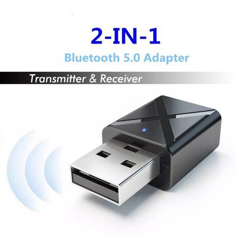 2 В 1 Bluetooth 5.0 трансмитер ресивър transmitter receiver адаптер