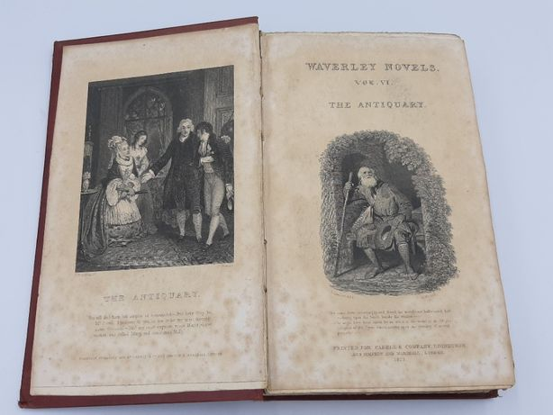 De Colectie Carte rara .Waverley Novels Vol.VI-The antiquary - 182