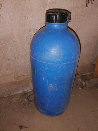 Фляга пластиковая на 8 литров