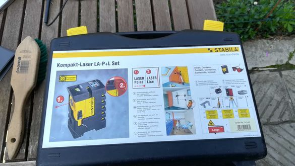 Лазерен нивелир Stabila Compact Laser with Point Function