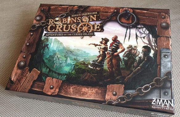 Boardgame Robinson Crusoe - Adventures on the cursed island