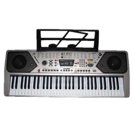 Orga electronica cu USB, 61 clape, microfon inclus,5 octave