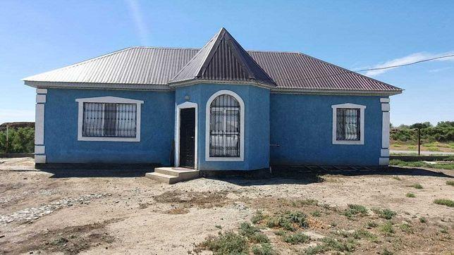 Продается 2-комнатный дом на берегу р. Урал, 63 м², 7.3 сот. АКЖАР