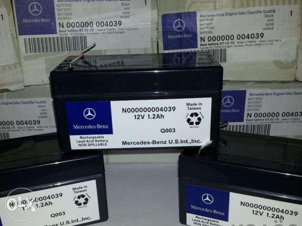 Аккумуляторы 1,2 Ач (Китай) для Mercedes ML/GL/GLK