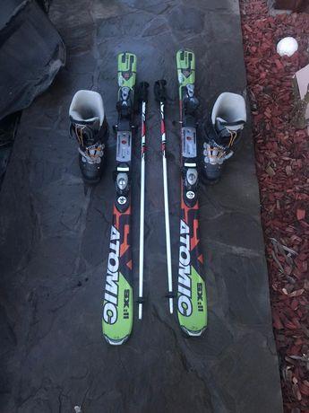 Skiuri schiuri clapari bețe Atomic