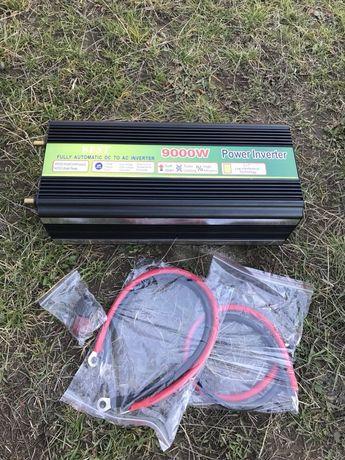 Invertor De Curent 9000W (bormasina,flex,calorifer,betoniera) 12V