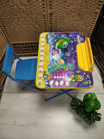 Детский стол и стульчик складной детская мебель. KASPI RED и РАССРОЧКА