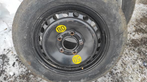 Резервна гума (патерица) БМВ Е46, Мазда 3