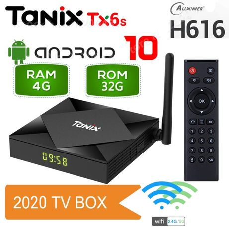 Android TV Box Tanix TX6S 4GB/32GB Android 10.0, 8K configurat România
