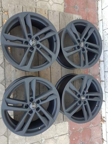 Jante Audi S1 7.5x17 et 46 5x100 negru mat