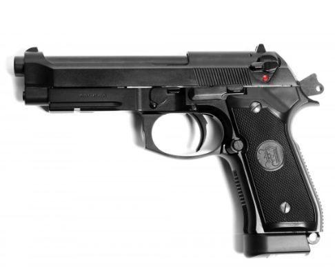 Vind pistol airsoft FULL METAL ca nou!! Beretta Cu RECUL Aer Comprimat