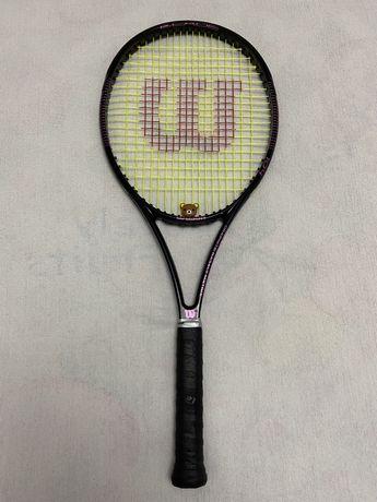 Wilson blade serena williams pink-black