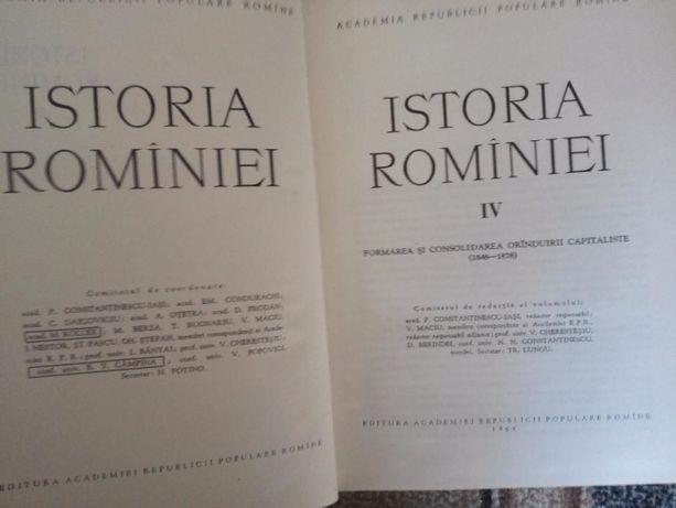 Istoria Romaniei 4 VOL