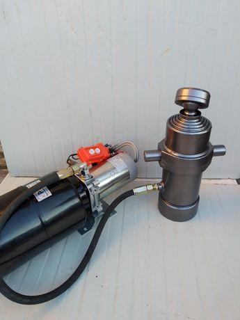 Cilindru basculare 6 tone 5 segmente,pompa basculare