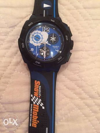SWATCH Chrono Snow Mobile Special edition
