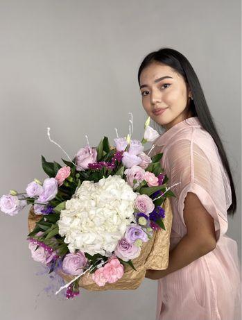 Цветы, доставка цветов Костанай