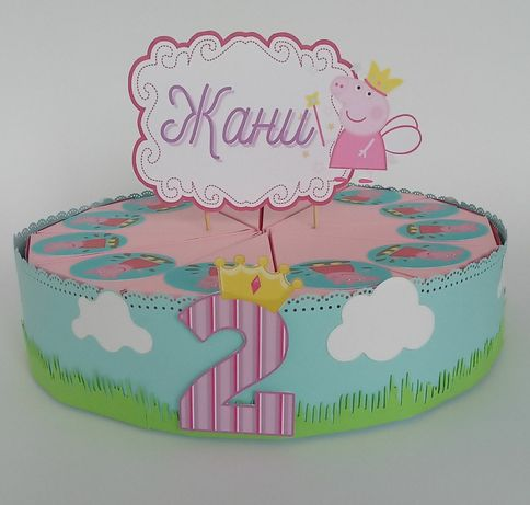 Тематични картонени торти