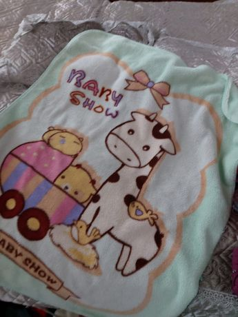 Теплое детское одеяло в хорошем состоянии недорого
